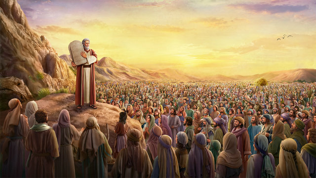 Moisés promulgou a lei