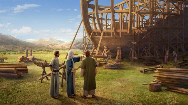 Noah made the ark