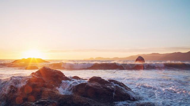 Mar e sol