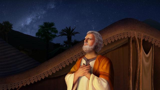 A bênção de Deus para Abraão