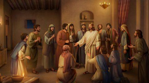 Jesus e discípulos