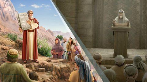 Moisés e fariseus