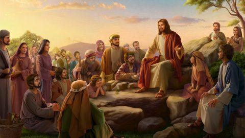 O Sermão da Montanha, as parábolas do Senhor Jesus, os mandamentos