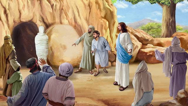 A ressurreição de Lázaro glorifica a Deus