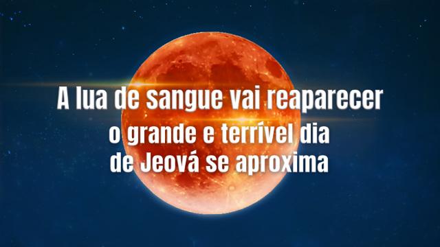 A lua de sangue vai reaparecer