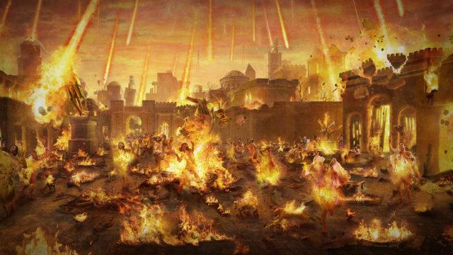 Cidade Sodoma Ardente