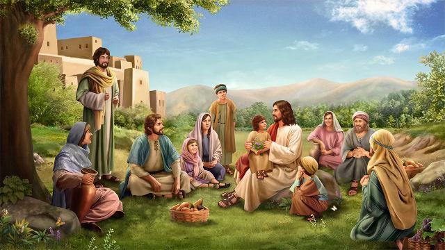 Na era do Novo Testamento, as pessoas que aceitaram o evangelho do Senhor Jesus receberam a graça e as bênçãos de Deus.