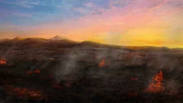 A cidade de Sodoma foi destruída por Deus