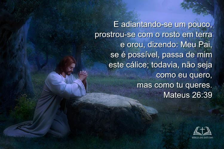 A oração de Jesus