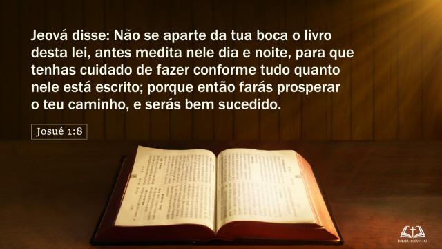 Versículos sobre Leitura da Bíblia