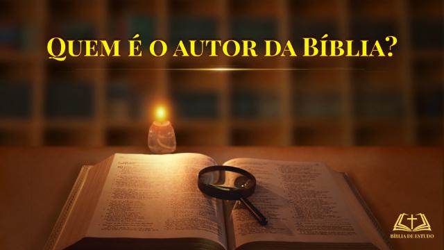 Revelado – Quem é o autor da Bíblia?
