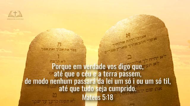 Versículos Bíblicos sobre a Lei