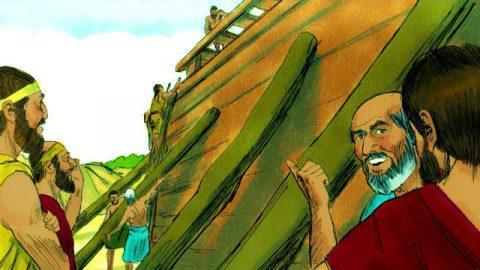 Gênesis – Deus Ordena que Noé Construa a Arca