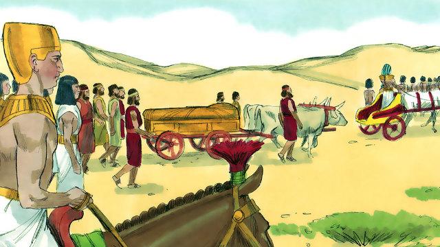 Gênesis – A Morte e o Sepultamento de Jacó