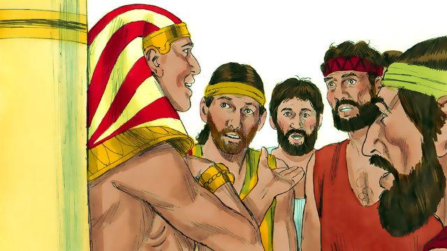 Gênesis – José testa seus irmãos