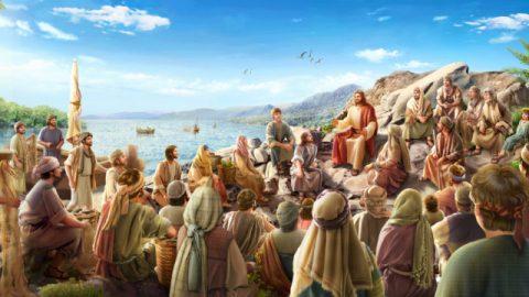 O Senhor Jesus pregou