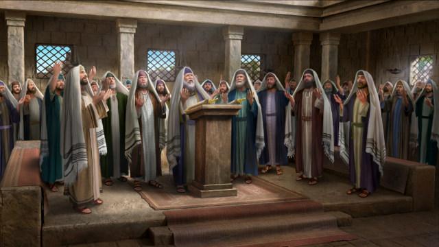 Os fariseus estão ansiosos para a vinda do Messias