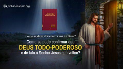 Como se deve discernir a voz de Deus? Como se pode confirmar que Deus Todo-Poderoso é de fato o Senhor Jesus que voltou?