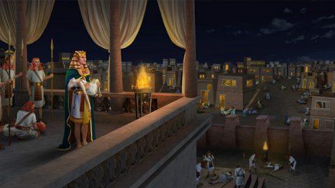 Deus Fere Todos os Primogênitos na Terra do Egito