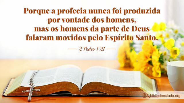 Versículos sobre a Inspiração da Escritura