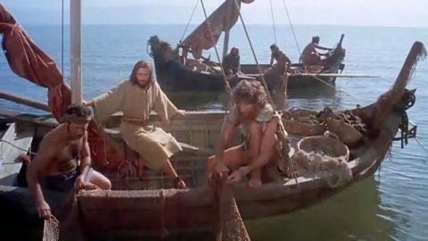 Filme Jesus - Captura milagrosa dos peixes de Jesus