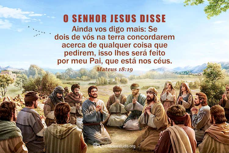 Mateus 18:19 | Só com uma só mente podemos ter a obra do Espírito Santo