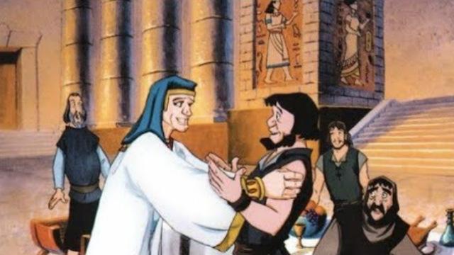 Desenhos Bíblicos-A reunião dos Irmãos de José
