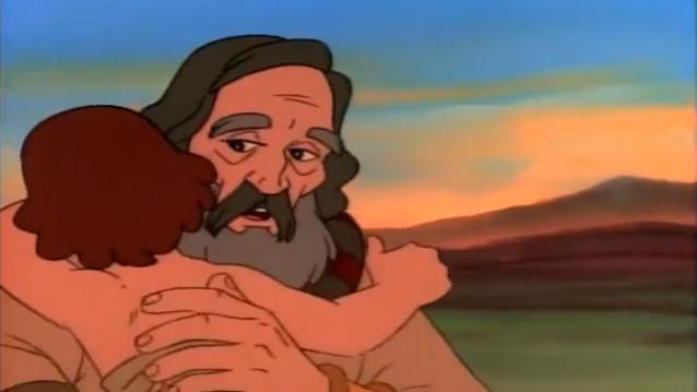 Desenhos Bíblicos – Abraão e Isaac
