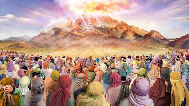 Êxodo - Jeová Desce no Monte Sinai