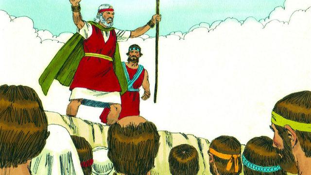 Êxodo - Os Israelitas Murmuram Contra Jeová por Causa da Fome