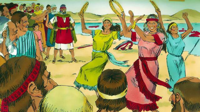 Êxodo - Os Israelitas Louvam a Jeová