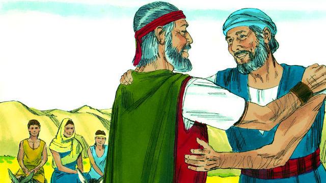 Êxodo - Moisés volta ao Egito