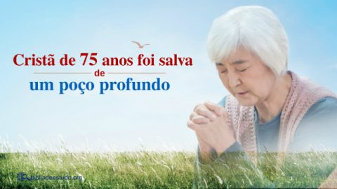 Proteção de Deus: Cristã de 75 anos foi salva de um poço profundo