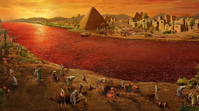 Êxodo - As dez pragas do Egito na Bíblia   As 10 pragas