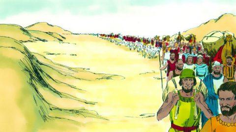 Êxodo - Os Israelitas saem do Egito
