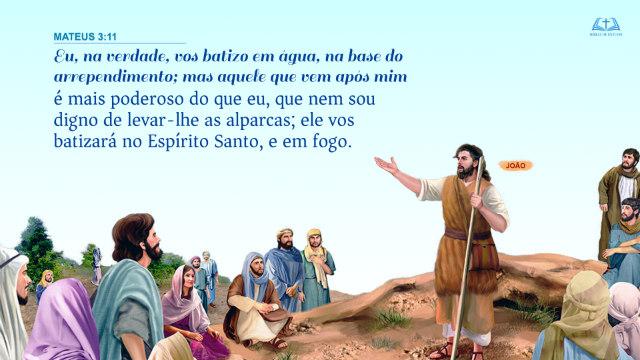 Versículos Bíblicos sobre batismo