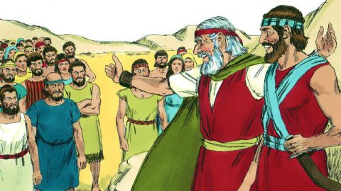 Deuteronômio - Josué Sucede a Moisés para Guiar os Israelitas