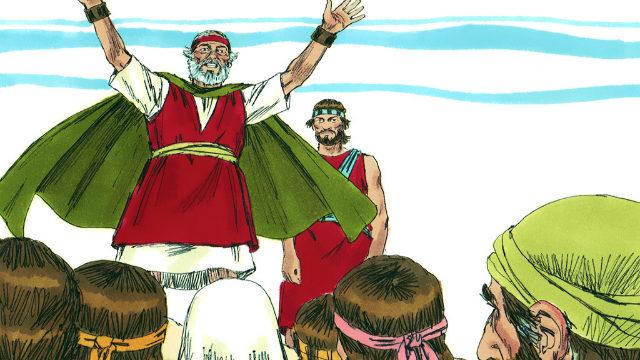 Deus Não Permite que Moisés Entre em Canaã