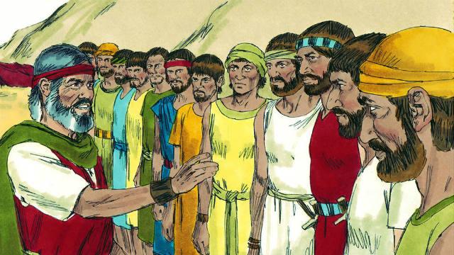 Números - Moisés Envia 12 Espias a Canaã