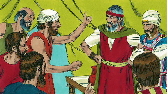 O Grupo de Coré é Castigado por se Voltar contra Jeová