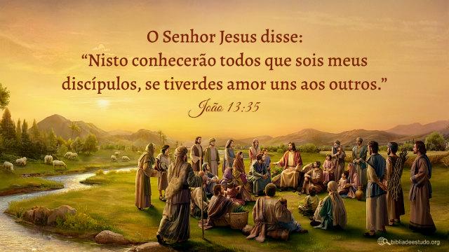 Versículo do Dia: João 13:35 Estudo