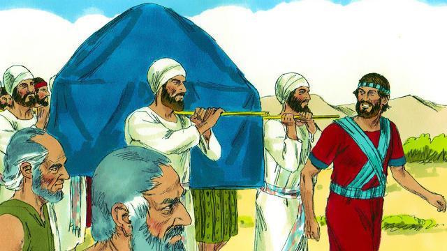 Josué - Josué Guia os Israelitas para além do Jordão