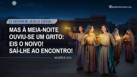 Versículo do Dia: Mateus 25:6 Estudo - A Virgens Sábias podem ouvir a voz de Deus e acolher o Senhor