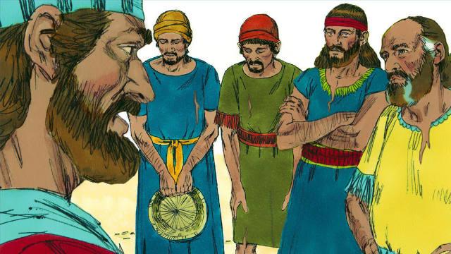 Os Gibeonitas Enganam Josué