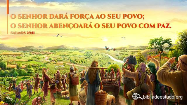 Versículo do Dia: Salmos 29:11 Estudo