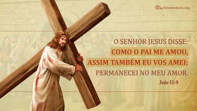Imagem do amor de Jesus
