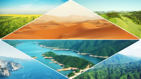 Deus traça as fronteiras para os vários ambientes geográficos