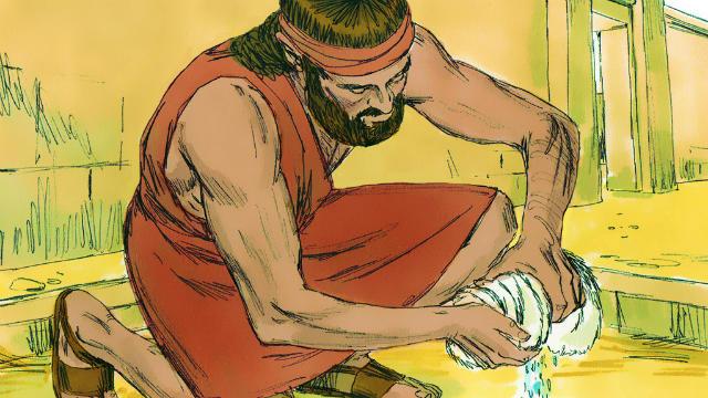 História de Gideão: Gideão Pede Três Vezes por um Sinal de Deus