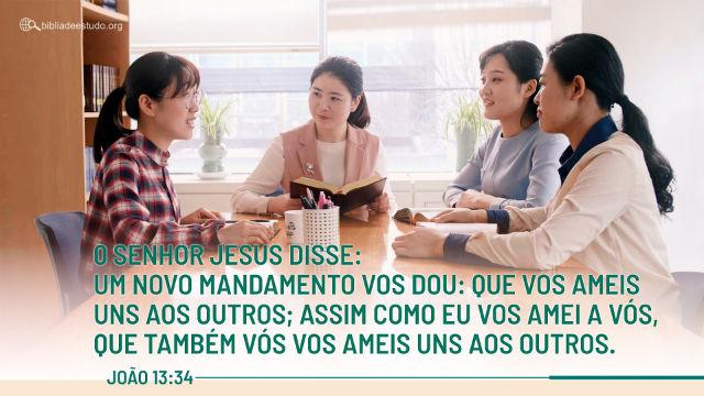 Um novo mandamento vos dou: que vos ameis uns aos outros; assim como eu vos amei a vós, que também vós vos ameis uns aos outros.João 13:34