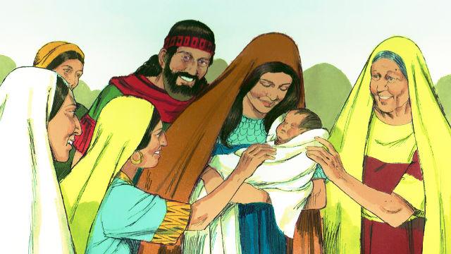Rute e Boaz - Boaz Casa com Rute
